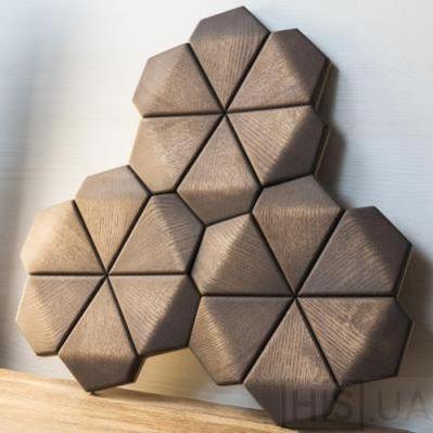 Фото Next Level Design Denver Деревянная мозаика из мас