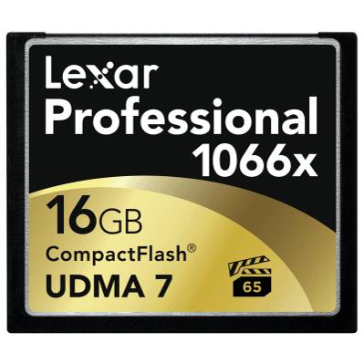 Фото Lexar Lexar CF 16GB 1066X Professional LCF16GCRBEU
