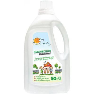 Фото Green Clean Гель Professional для стирки детского белья 3 л