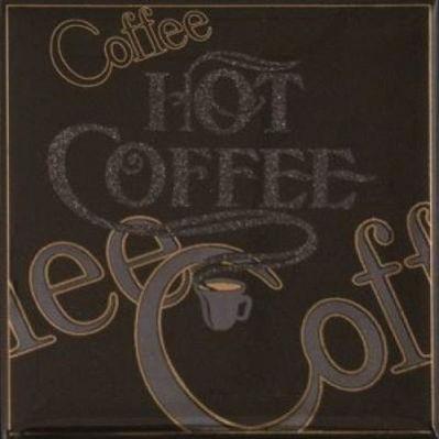 Фото Декор MONOPOLE CERAMICA COFFEE GOLD 000171100 Хара