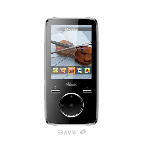 MP3 плеер (Flash,  HDD)  Ritmix RF-7650 8Gb