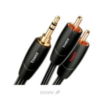 Фото AudioQuest Tower 3.5mm-RCA 1.0m (TOWER01MR)