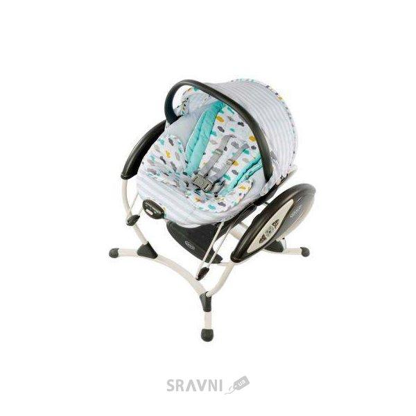 кресла качалки шезлонги детские Graco цены в интернет магазинах